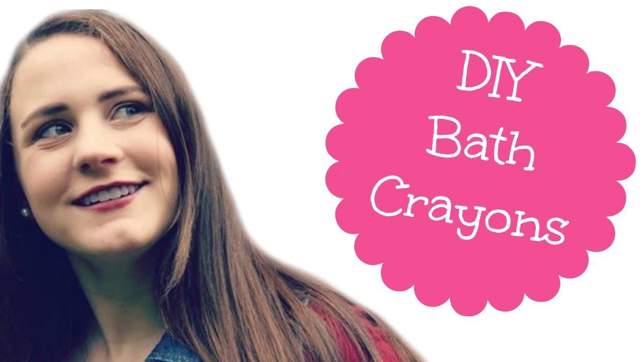 How To Make Bath Crayons
