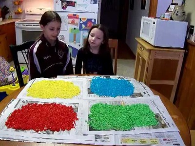 How to Make Colored Craft Rice - Easy and Fun Crafts With Kids