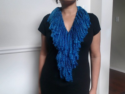 How to make no crochet or knit scarf (quick and easy)