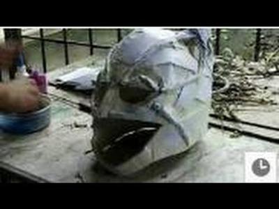 How to make your own Batman Dark Knight Mask DIY Tutorial