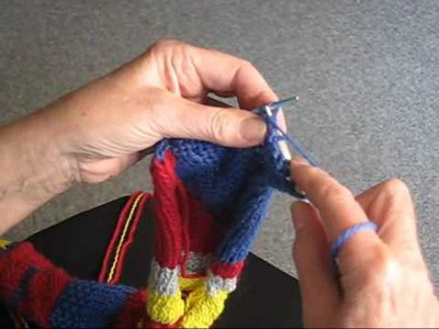 HOW TO PURL IN THE BACK OF A STITCH
