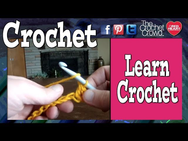 How To Start Crochet: Lesson 1 with Mikey