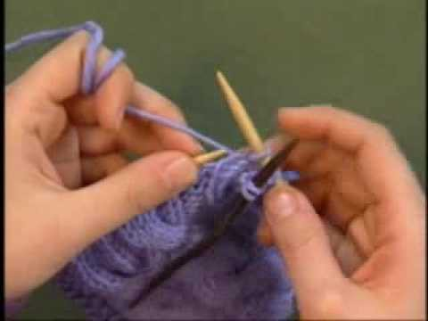 Knitting a Basic Cable - KDTV 301 with Eunny Jang
