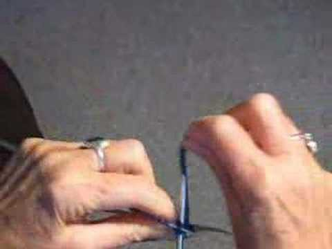 KNITTING ON DOUBLE POINTED NEEDLES VIDEO
