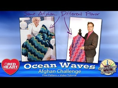 Learn to Crochet: Ocean Waves Afghan