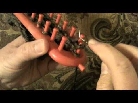 Loom Knitting: How to Decrease Bind Off