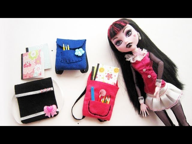 Make a Doll Backpack - Doll Crafts