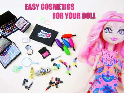 Make Doll Cosmetics - Doll Crafts