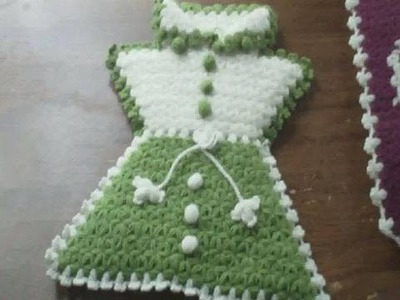 Manualidades de crochet faciles:  calzado, cocina y baño tejidos al estilo Turco