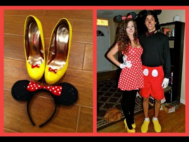 Minnie Mouse Tutorial (DIY Costume and Makeup)