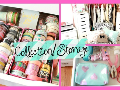 Office Crafting Storage.Collection: Washi Tape, Stickers, and scrapbooking | Belinda Selene