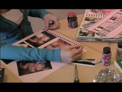 Personal Scrapbooking Ideas : How to Use Border Stickers in Scrapbooks