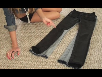 Recycle and Reuse old Jeans. DIY, Recon && Craft Ideas!