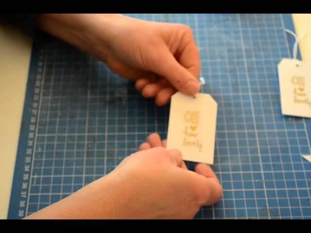 Scrapbook DIY Embellishment [ Tutorial Deutsch,basteln mit papier,selber machen ]