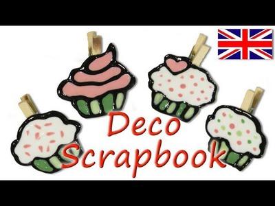 Scrapbook Ideas *Cupcakes Embellishment for Scrapbooking* Clip Crafts Mathie