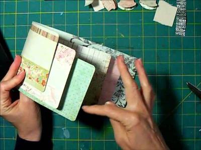 Scrapbooking - Creating a Tabbed Mini Book
