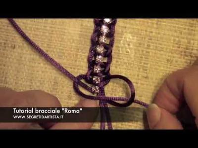 Segreti d'Artista: DIY tutorial bracciale con strass