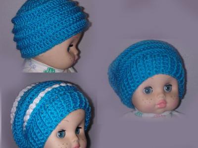 Шапка 3 в 1 Вязание крючком шапки для начинающих Crochet Hats 3 in 1