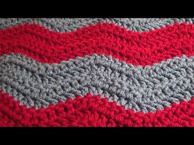 Soft Crochet Chevron Blanket - Crochet Chevron Blanket in Any Size
