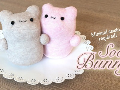 The Best DIY Kawaii Plush Tutorial Ever! You won't believe how easy it is to make these bunnies!