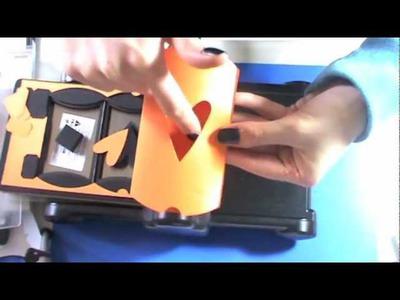Tutorial Scrapbooking: fustella Tim Holtz pillow box 658268 (Packaging)