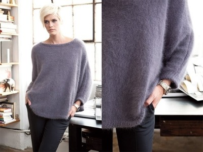 #13 Dolman Pullover, Vogue Knitting Winter 2011.12