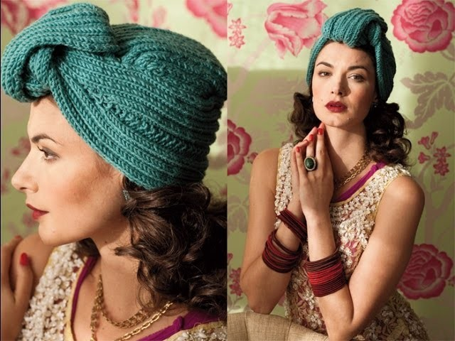 #31 Turban, Vogue Knitting Winter 2011.12