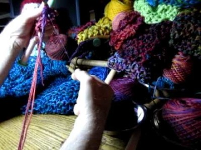 8. Chain Knitting with Beads - Part 2