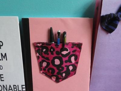 Back-to-School DIY: 3 ways to Decorate Notebooks Folders + Binders!