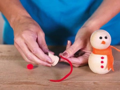 Christmas Craft Ideas: Make a Snowman Family