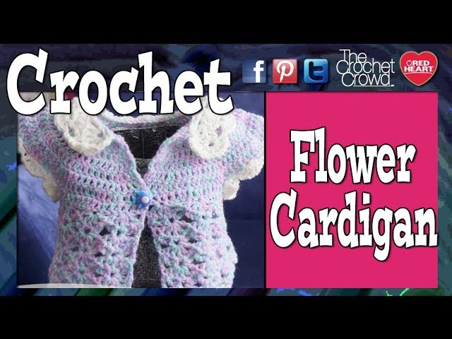 Crochet Baby Petal Sweater Tutorial