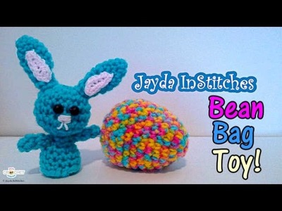 Crochet Easter Egg Bean Bag Toy Tutorial