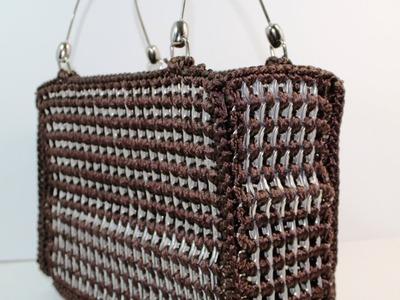 Crochet soda tab purse video two