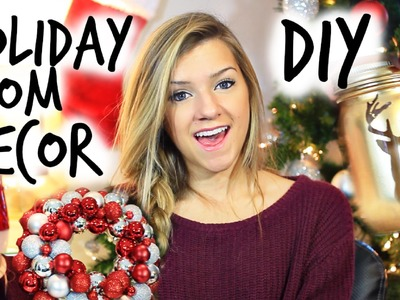DIY Christmas Room Decorations!