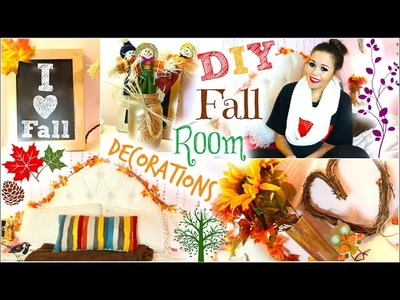 DIY Fall Room Decorations+How to make it cozy! | KrazyRayRay
