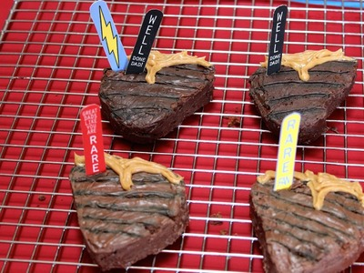 "DIY Father's Day Treats & Gifts Tutorial ""Steak Brownies"""