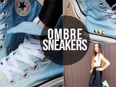 DIY: Ombré Sneakers.Converse | LaurDIY