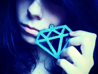 DIY PERFECT SCENE QUEEN NECKLACE (diamond) tutorial