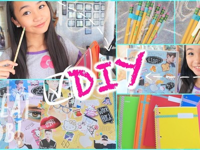 DIY Personalized School Supplies Ideas!