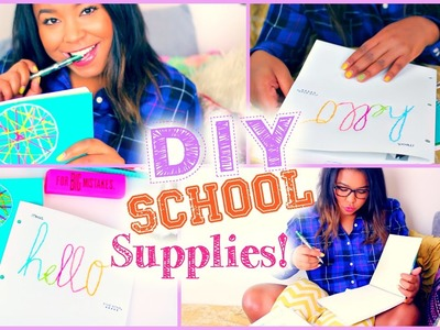 DIY School Supplies Back to School 2014+$100 Amazon gift!