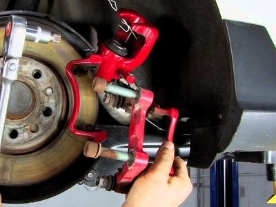 ECS Tuning: VW MKV Rear Brakes Pad and Rotor DIY