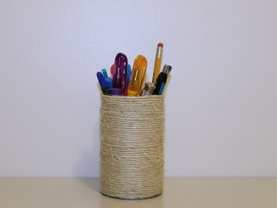 Fathers Day Crafts: Pencil Holder