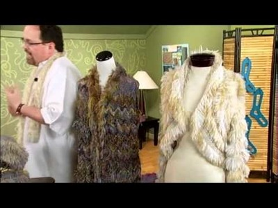 Faux Fur Designs with Laura Bryant and Barry Klein, from Knitting Daily TV Episode 906