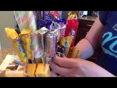 How to make a candy bouquet - Dollar Store Crafts.com