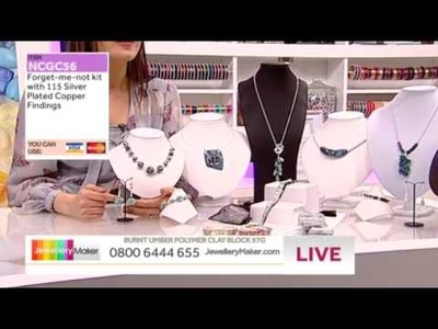 'How to Make Polymer Clay Jewellery'; JewelleryMaker LIVE 29.03.2014