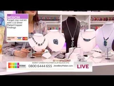 'How to Make Polymer Clay Jewellery'; JewelleryMaker LIVE 29.03.2014