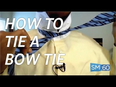 How To Tie A Bow Tie Easy | Style Minute - Ep 040
