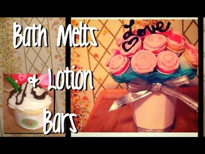 Make Lotion Bars.Bath Melts for Skin & Hair (Gift Ideas DIY)