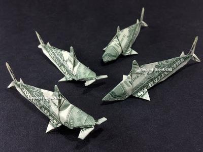 Money Origami Sharks Koi Fish Hammerhead Sharks