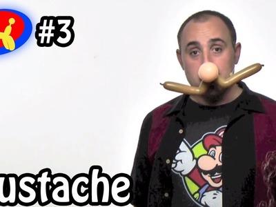One Balloon Mustache - Balloon Animal Lessons #3
